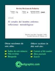 El estudio del hombre enfermo: reflexiones ... - edigraphic.com