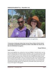 3. Namibia-Rundbrief von Reinhild und Michael Koob