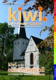2 Ausgabe-3-2009kiwi.pdf - Evangelische Kirchengemeinde ...