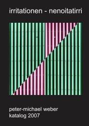 katalog 2007 - Peter-Michael Weber