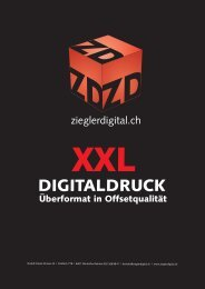 Datenblatt Digitaldruck - Ziegler Digital