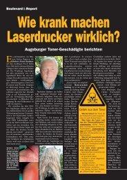 Augsburger Toner-Geschädigte berichten - nano-Control