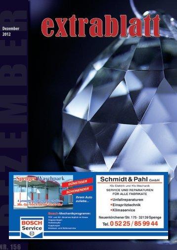 Ausgabe Dezember 2012 - Extrablatt