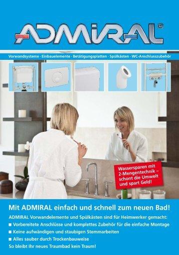 ADMIRAL Prospekt - Bauhaus