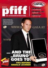 PFIFF Ausgabe Nr. 5 - 2010 - Schiri.at