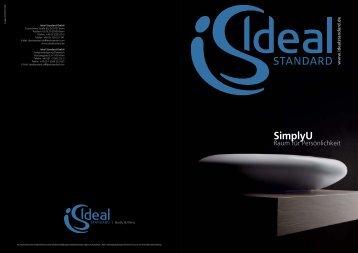 SimplyU Kollektion Prospekt - Ideal Standard