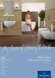 Bäderwelten Tout l'univers du bain Pocket - Villeroy & Boch