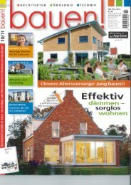 bauen Oktober-November 2012 - HO Immobilien + Baukonzepte