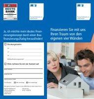 MVB-Baufinanzierung - Mainzer Volksbank eG