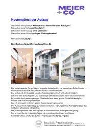 Datenblatt Hiro A4 - Meier + Co AG