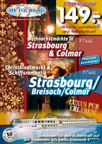 Weihnachtsmärkte Strasbourg & Colmar - My Tours AG
