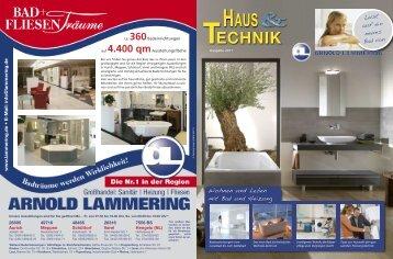 Haus und Technik 2011 - bei der Arnold Lammering GmbH & Co. KG