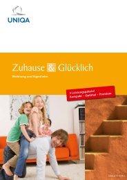 Folder Zuhause & Glücklich Eigenheim- und ... - Uniqa