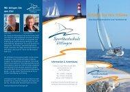 Sportbootschule Ettlingen - Text-Konzept-Beratung