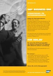 SAP® BUSINESS ONE EUR 990,00* - Straton IT-Consulting AG