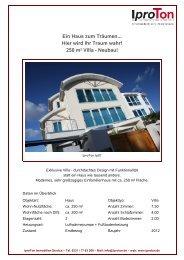 Ein Haus zum Träumen... Hier wird Ihr Traum wahr! 250 m² ... - Iproton