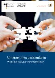 Willkommenskultur im Unternehmen - Kompetenzzentrum ...
