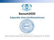 Eckpunkte eines Familienzentrums - Bassum 2020