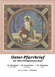 Oster-Pfarrbrief - pfarreiengemeinschaft-trierweiler.de
