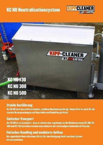 KC NU Neutralisationsystem KC NU 130 KC NU 300 KC ... - Ecolistec