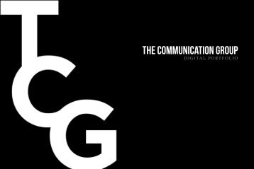 DIGITAL PORTFOLIO - tcg:the communication group