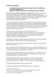 Projekt Histoscanning Text zum Download - Bund der Urologen eG