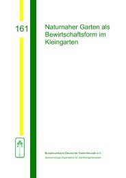 161 - Bundesverband Deutscher Gartenfreunde e. V.