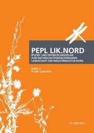 band 3 Pläne zum PEPL - LIK NORD