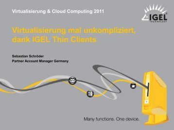 BREAKOUT-SESSION 6_IGEL_Virtualisierung mal ... - Amiando