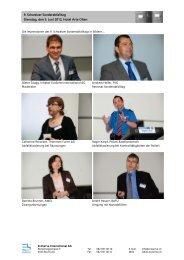 Impressionen SAT 2012 - EcoServe International AG