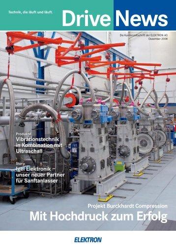 Mit Hochdruck zum Erfolg - Elektron AG