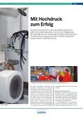 Mit Hochdruck zum Erfolg - Elektron AG - Seite 3