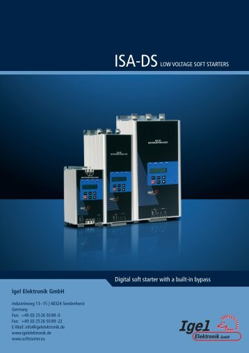 ISA-DS - Igel Electric