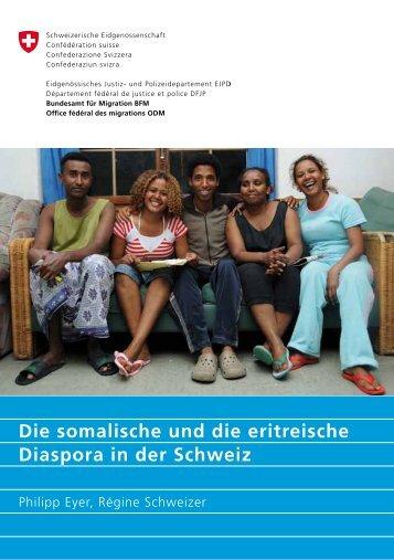 Die somalische und die eritreische Diaspora in - Bundesamt für ...