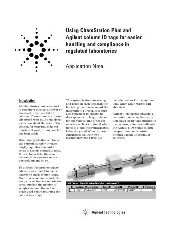 Chemstation manual