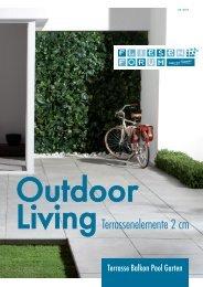 Outdoor Living - Terrassenelemente 2cm