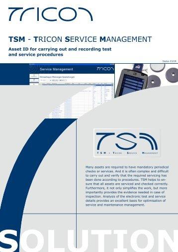 TSM - TRICON SERVICE MANAGEMENT