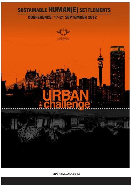ISBN: 978-0-620-54069-8 - Sustainable Human(e) Settlements: The ...