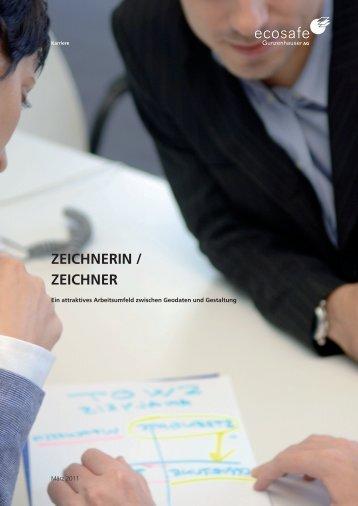 ZEICHNERIN / ZEICHNER - ecosafe Gunzenhauser AG