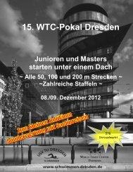15. WTC-Pokal Dresden - USV TU Dresden e.V. - Abteilung ...