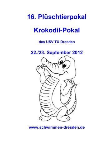 16. Plüschtierpokal Krokodil-Pokal - USV TU Dresden e.V. ...