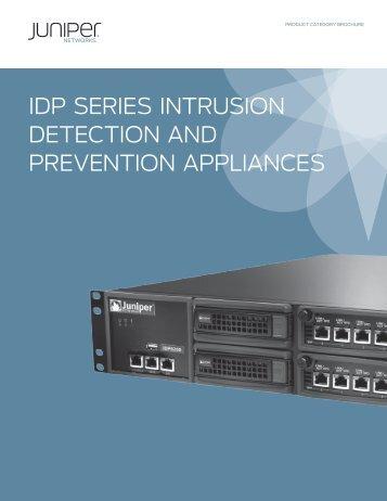 Juniper IDP Series - Arrow ECS