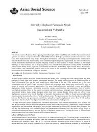 Internally Displaced Persons in Nepal - Internal Displacement ...
