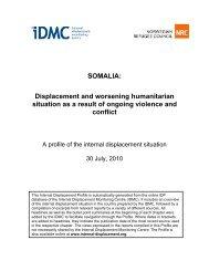 SOMALIA - Internal Displacement Monitoring Centre