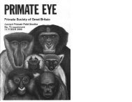 2000 Vol 72 Supplement.pdf - Primate Society of Great Britain