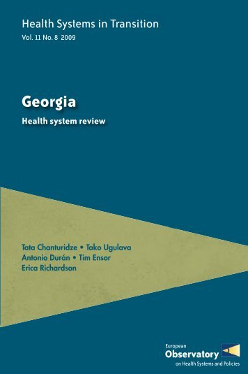 Health Systems in Transition: Georgia - World Health Organization ...