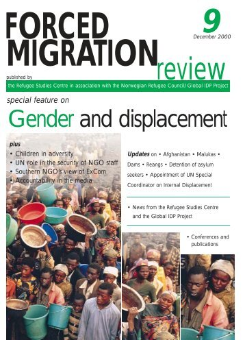 Gender and displacement - Forced Migration Review