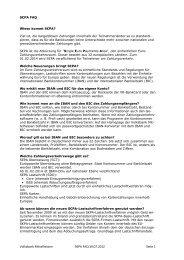 Volksbank Mittelhessen S€PA FAQ 19.07.2012 Seite 1