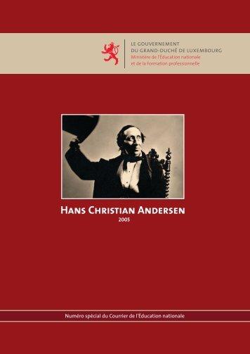 Hans Christian Andersen - Ministère de l'éducation nationale et de ...