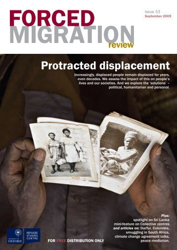 Protracted displacement - Forced Migration Review